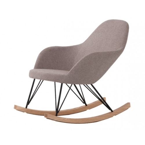 Rocking chair Malibu taupe