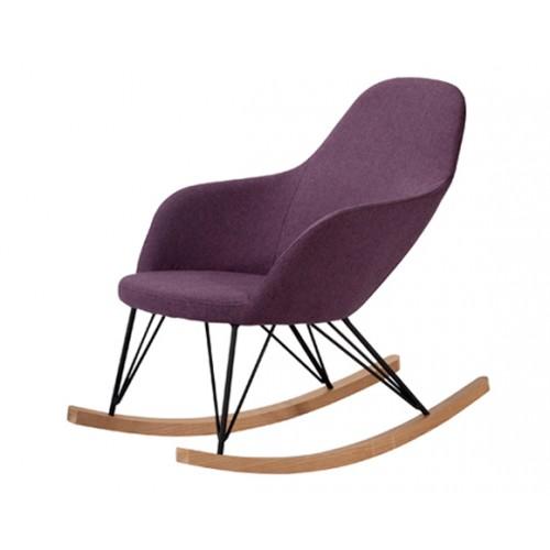 acheter rocking chair violet