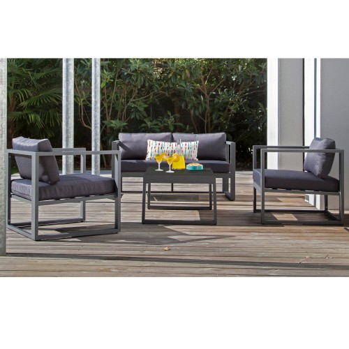 Metal And Wood Outdoor Furniture Also Best Of Charmant Salon De ...
