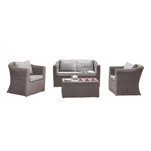salon de jardin talagante taupe achetez salons de jardin talagante taupe rdv d co. Black Bedroom Furniture Sets. Home Design Ideas
