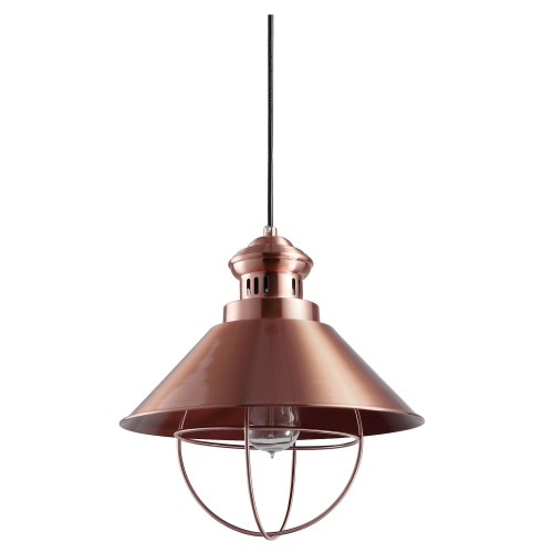 lampe suspension kitchen cuivre.