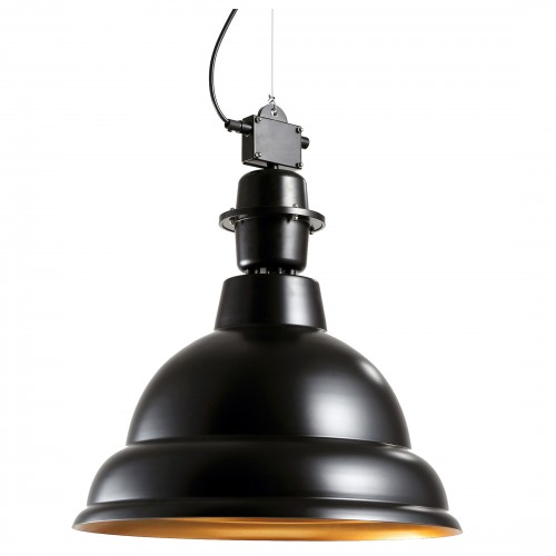 lampe suspension industry noir