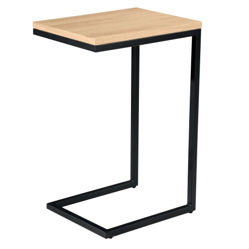 acheter table appoint bois metal