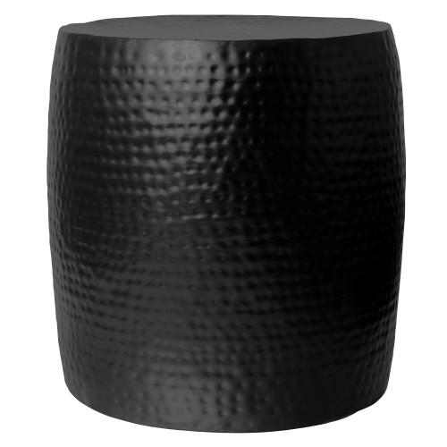 Table d'appoint métal Hira noire