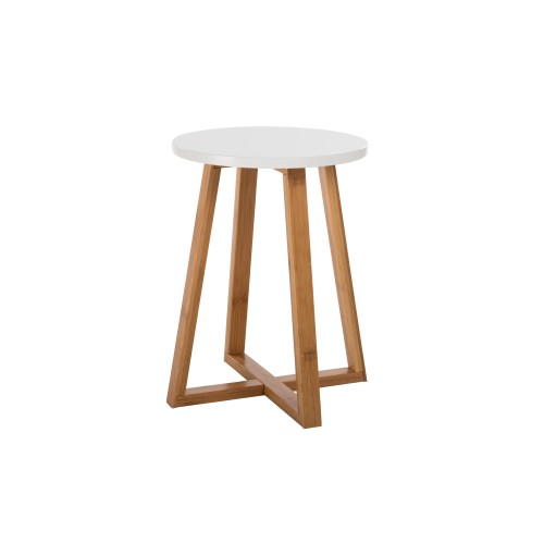 Table d 39 appoint ronde skandi commandez nos tables d for Table appoint scandinave