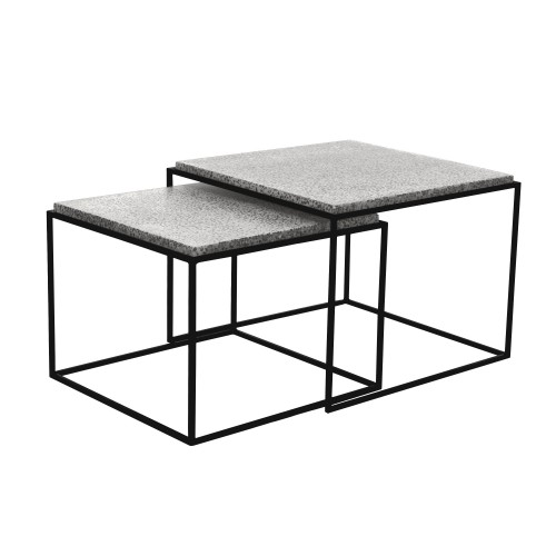 Table basse Lima gigogne (lot de 2)