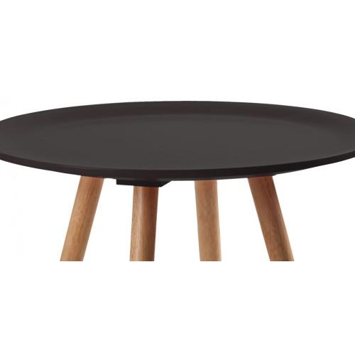 table de salon ronde noire commandez nos tables de salon rondes noires rdvd co. Black Bedroom Furniture Sets. Home Design Ideas