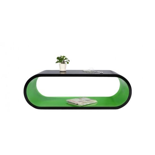 acheter table basse verte et noire