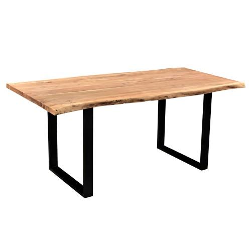 acheter table bois 6 personnes