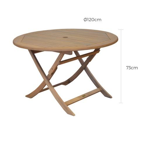 acheter table de jardin bois