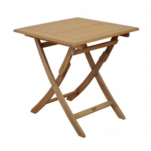 acheter table de jardin carre bois