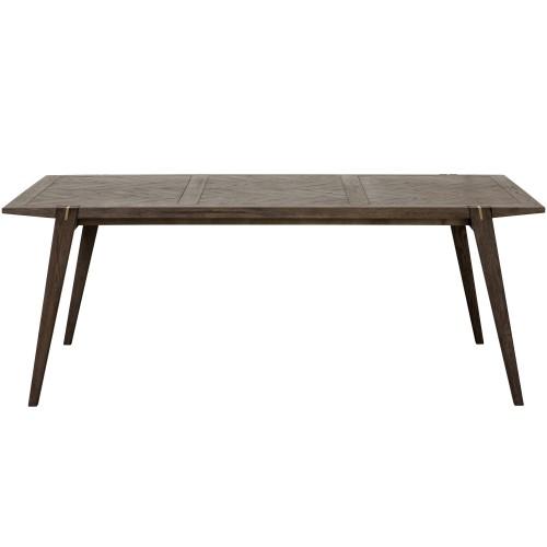 Table Jafar rectangulaire en bois 200 cm
