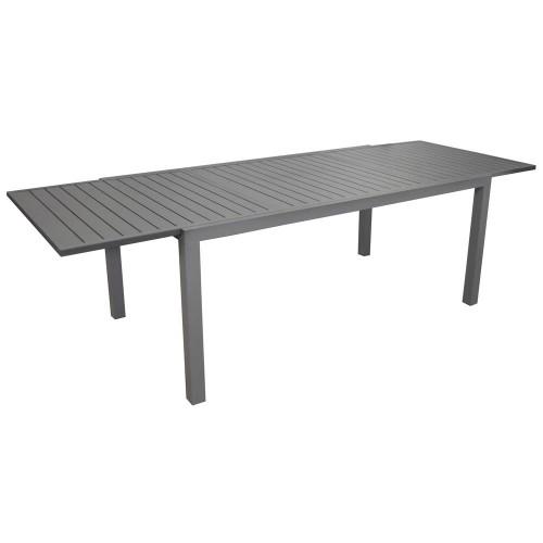 acheter table extensible grise