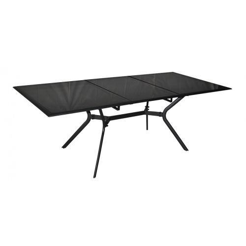 Table de jardin 240 cm wallis grise achetez nos tables Mini table jardin