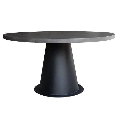 Table Fuji ronde lavastone 120cm