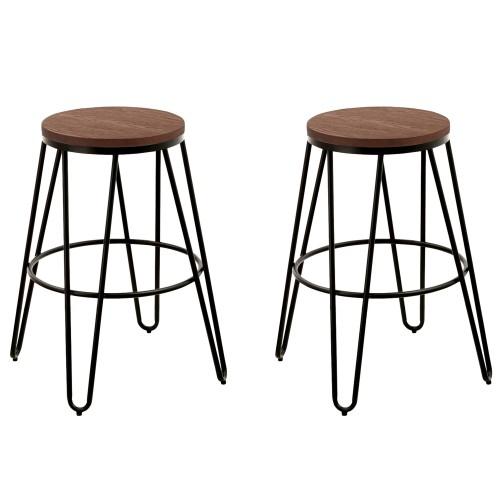chaise en m tal optez pour nos chaises en m tal effet rouille rdv d co. Black Bedroom Furniture Sets. Home Design Ideas