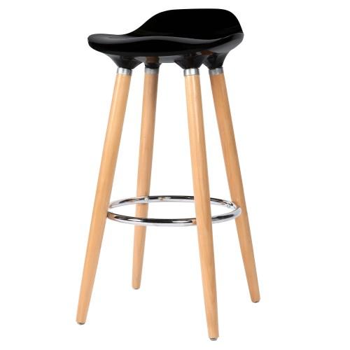 tabouret de bar italien noir commandez nos tabourets de bar italiens noirs rdv d co. Black Bedroom Furniture Sets. Home Design Ideas