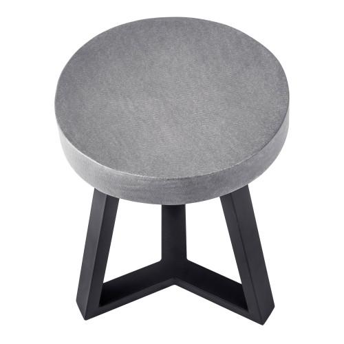 acheter tabouret design déco gris