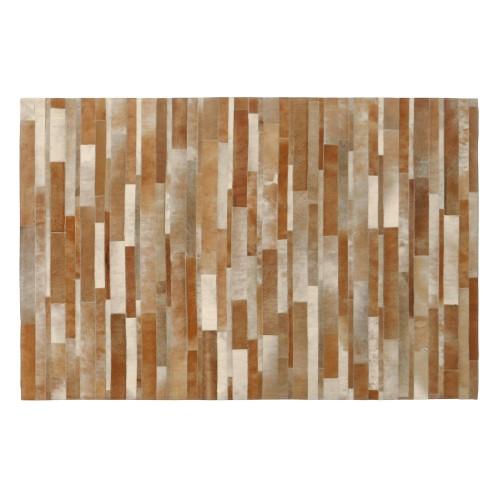 Tapis cuir Vivek beige 140x200 cm