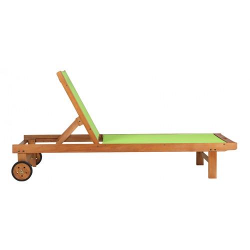 transat vert en bois achetez nos transats verts en bois. Black Bedroom Furniture Sets. Home Design Ideas