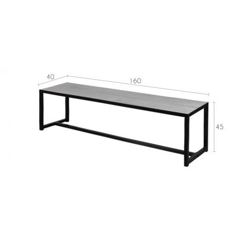 banc en b ton commandez nos bancs en b ton et en m tal rdvd co. Black Bedroom Furniture Sets. Home Design Ideas