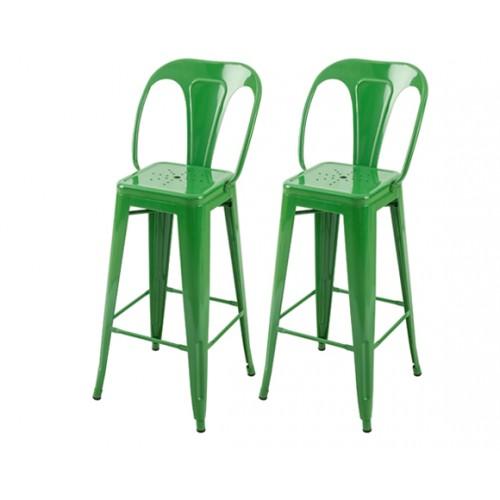 acheter chaise bar indus vert