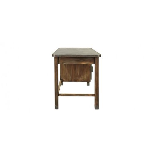 Bureau en bois vieilli achetez nos bureaux en bois for Bureau petit prix