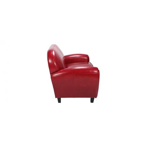 canapé club rouge8