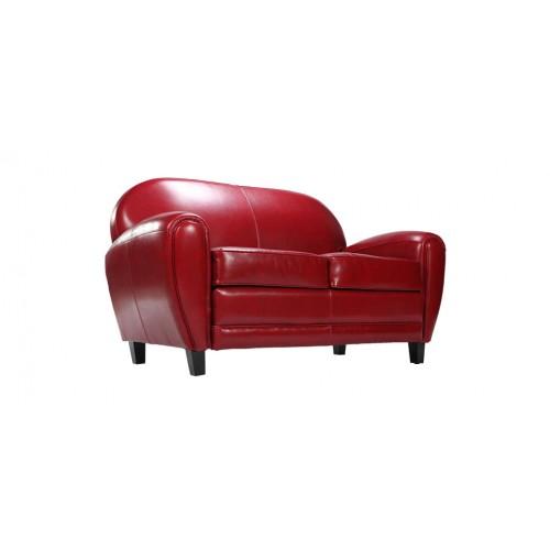 canapé club rouge10