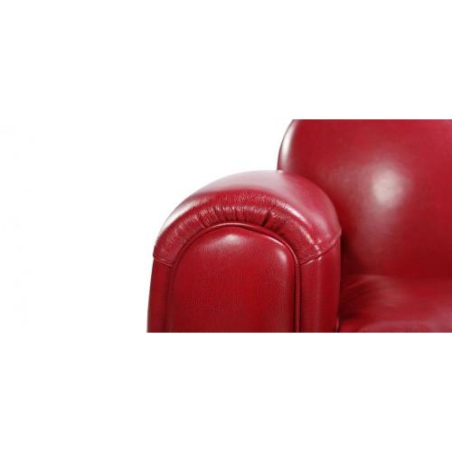 canapé club rouge4