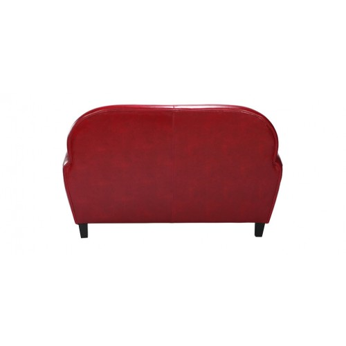 canapé club rouge5