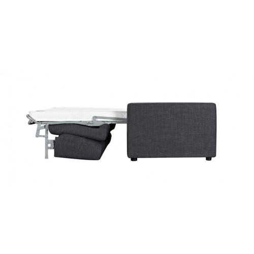 canape lit gris 140 x 190 pas cher
