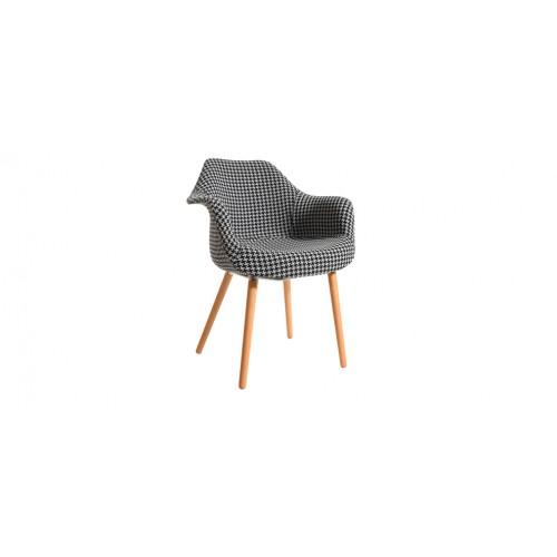 chaise a motif