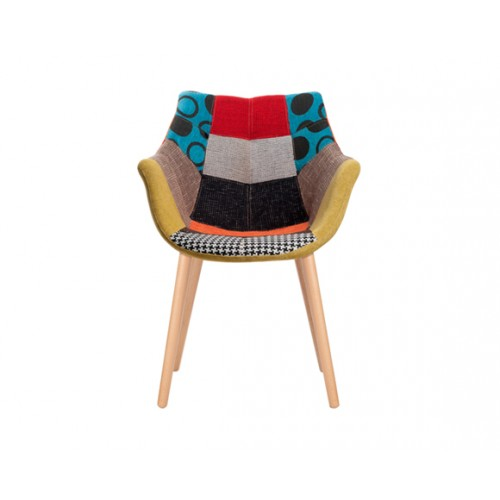 chaise anders patchwork