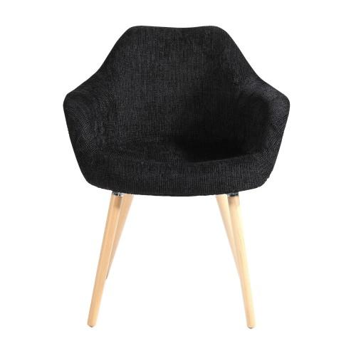 Chaise anssen noire achetez nos chaises anssen noires for Chaise 1er prix
