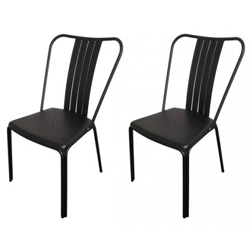 chaise azuro noire prix bas