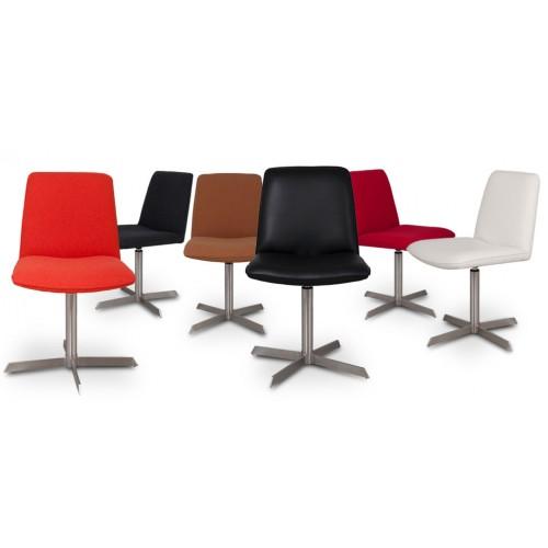 Chaise en cuir blanc commandez nos chaises en cuir blanc for Chaise petit prix