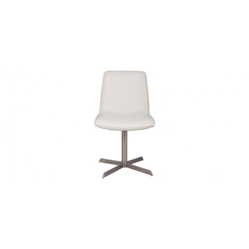 chaise cuir blanc pied metal prix usine - Chaise Cuir Blanc