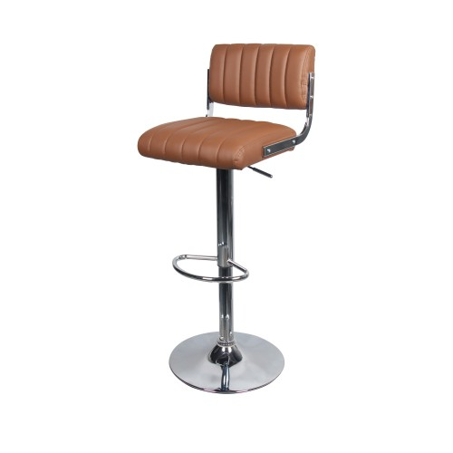 Chaise de bar Houston marron