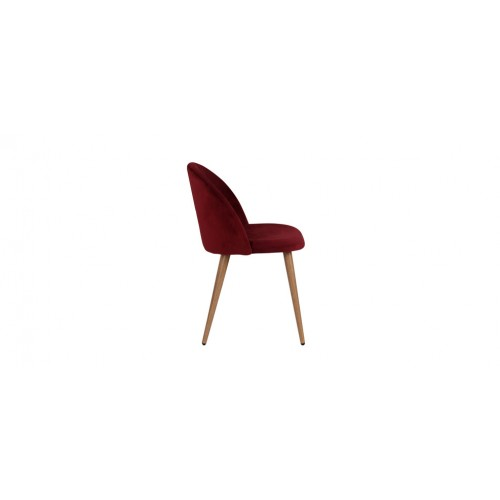 chaise cozy en velours bordeaux lot de 2 d couvrez les chaises cozy en velours bordeaux lot. Black Bedroom Furniture Sets. Home Design Ideas