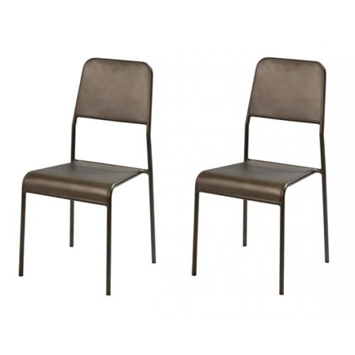 chaise exon lot de 2