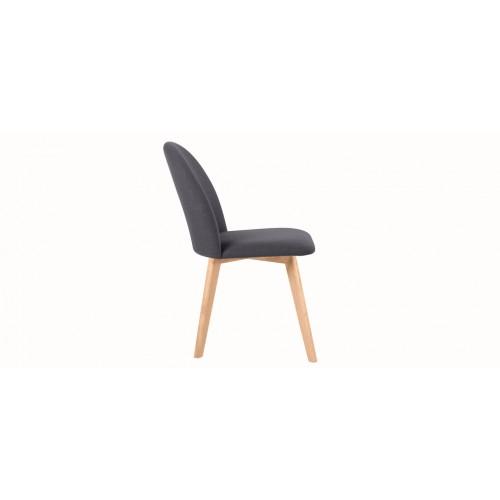 Chaise Linosa gris foncé détendez vous sur les chaises Lionsa gris