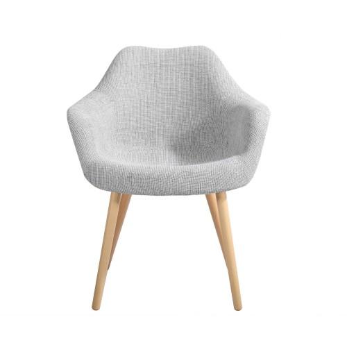 chaise grise anssen petit prix