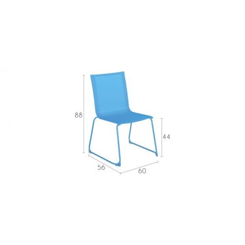 chaise empilable bleue choisissez nos chaises empilables bleues prix r duit rdv d co. Black Bedroom Furniture Sets. Home Design Ideas