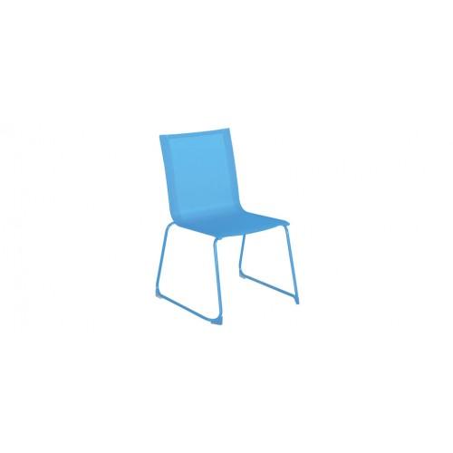 Chaise Jardin Empilable Bleue
