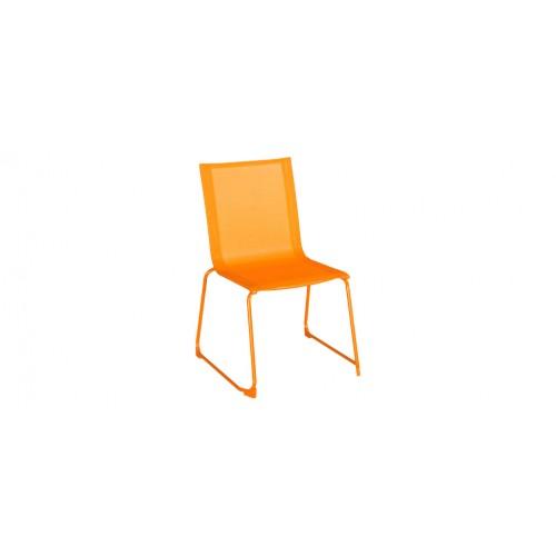 Chaise Jardin Empilable Orange