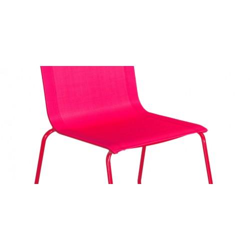 Chaise empilable rose : craquez pour nos chaises empilables roses ...