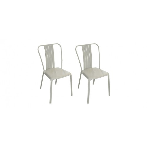 Chaise Jardin Grise Metal