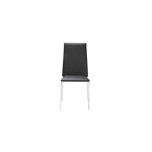 chaise repas noir design - Chaise Noire Design