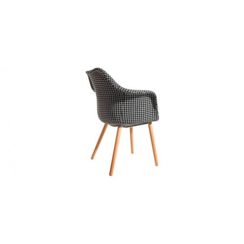 chaise scandinave pied de poule